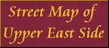 Street Map Of Upper East Side Nyc